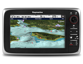cSeries Cartography Options | Raymarine Multifunction Displays