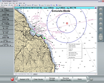 Raymarine RayTech RNS Navigation Software (Planner Version) raster charts