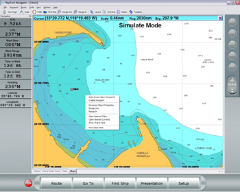 Raymarine RayTech RNS Navigation Software (Planner Version) waypoints