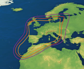 Hispasat Coverage | Raymarine