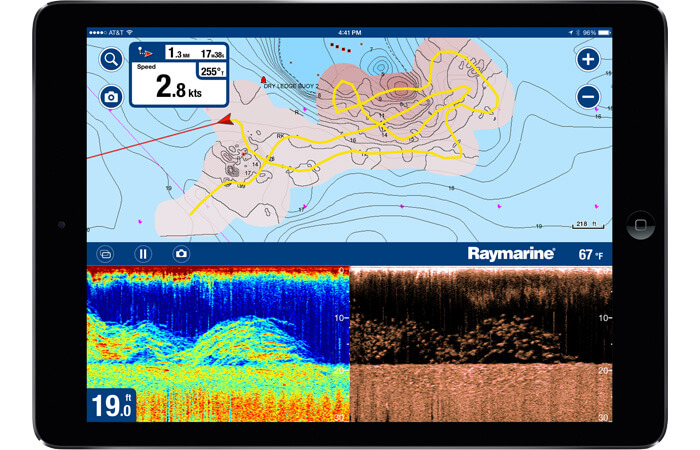 Navionics Boating App and SonarChart Live | Raymarine by FLIR