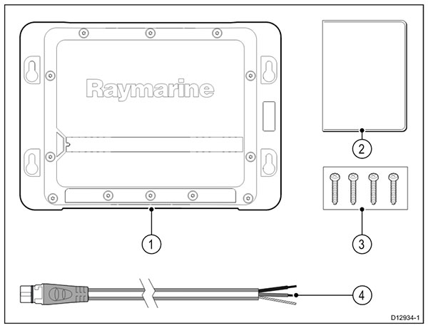 CP200 In the box | Raymarine
